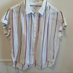 MADEWELL Central button front Shirt